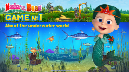 Masha and the Bear: Kids Learning games for free 1.0.35 screenshots 1