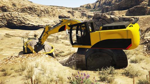 Dozer and Truck Games: Excavator Simulator  screenshots 14