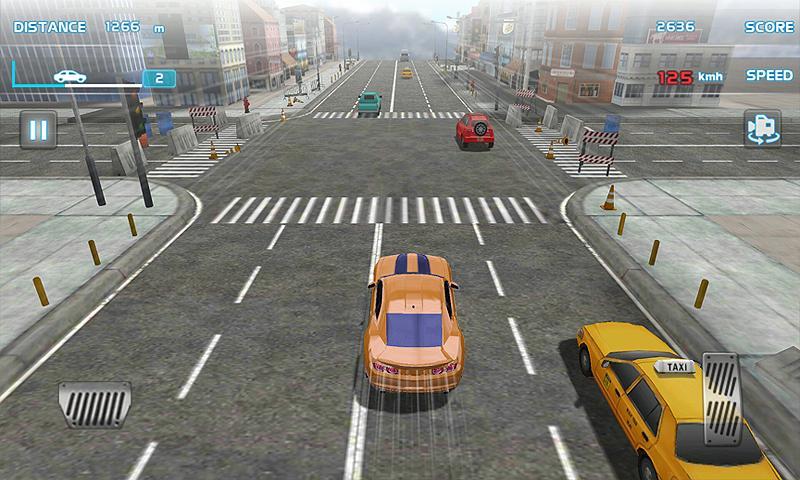 Turbo Driving Racing 3D MOD poster 3