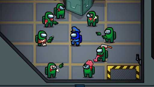 Zombie Among Us Mod Infected Impostor Gamemode android2mod screenshots 8