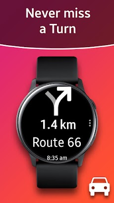 Navigation Pro: Google Maps Navi on Samsung Watchのおすすめ画像1
