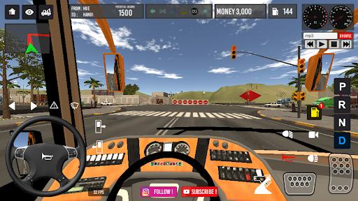Code Triche Vietnam Bus Simulator (Astuce) APK MOD screenshots 2
