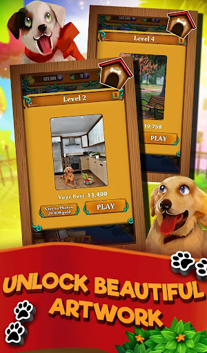 Match 3 Puppy Land - Matching Puzzle Game 1.0.16 screenshots 5