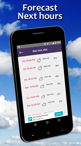 Weather Forecast free 5.7 screenshots 2