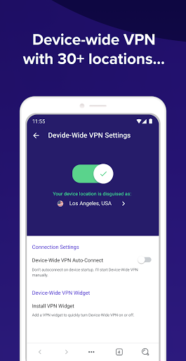 Avast Secure Browser: Fast VPN + Ad Block  screenshots 2
