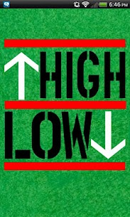 High or Low (drinking game) 1