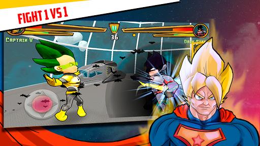 Superheroes League - Free fighting games 2.1 screenshots 1