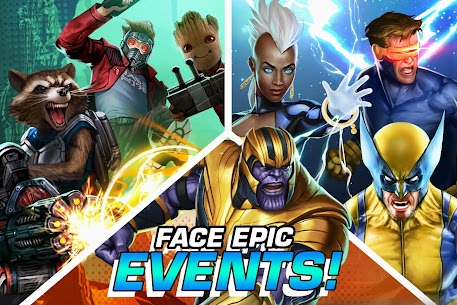Marvel Puzzle Quest Mod Apk 219.556184[Unlimited Money]Latest Version 6