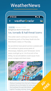 Weather & Radar USA Mod Apk- Winter alerts (Paid/Mod Extra) 6