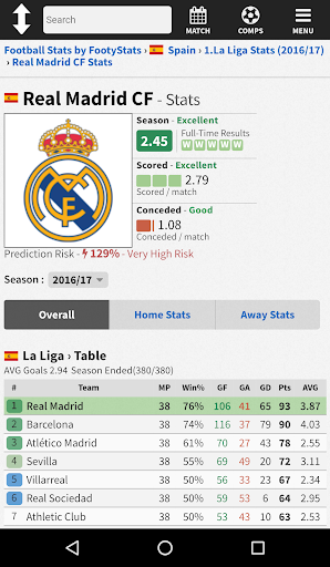 FootyStats - Soccer Stats for Betting 1.0 Screenshots 2