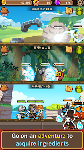 Cooking Quest VIP Mod Apk Food Wagon Adventure (Unlimited Gold) 5