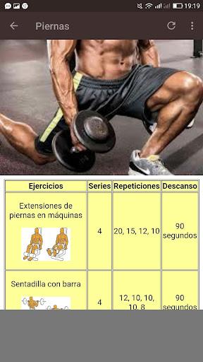 Fitness. Rutinas para el Gym  Screenshots 8