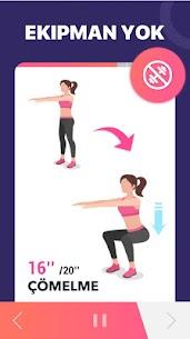 Kadınlar için Kilo Verme Uygulaması  Evde Egzersiz Apk İndir 2