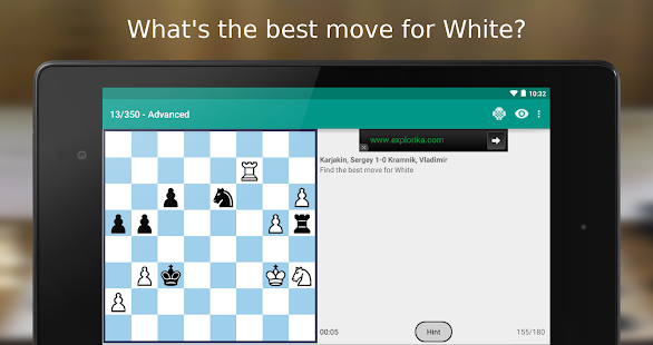 iChess - Chess Tactics/Puzzles Screenshot