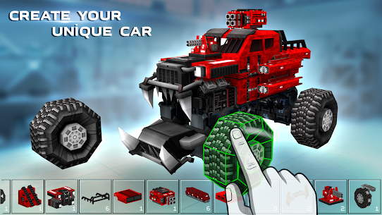 Blocky Cars – pixel shooter, tank wars 1