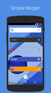 SearchBar Ex – Search Widget 1.6.1 Mod + Data for Android 3