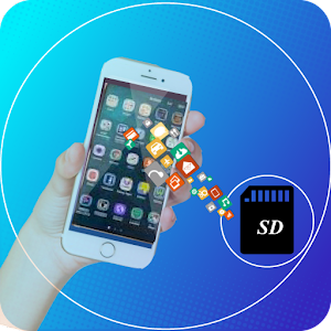 File Move Phone to SD card Apps Share 1.5 by Health Fitness Apps Hub logo