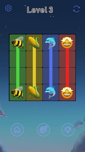 Connect Emoji Puzzle apkdebit screenshots 12