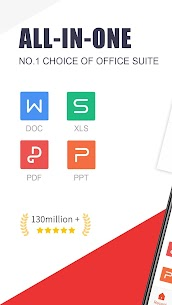 WPS Office – Free Office Suite for Word,PDF,Excel (MOD APK, Premium) v13.8 1