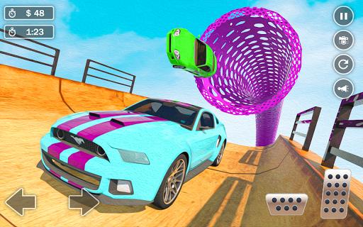 Mega Ramp Car Simulator u2013 Impossible 3D Car Stunts 5.2 Screenshots 4