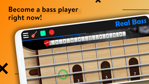 REAL BASS: Electric bass guitar 6.24.0 Screenshots 4