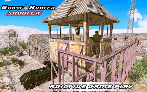 Ghost Hunter Shooter - Shooting Games 1.0 Screenshots 16
