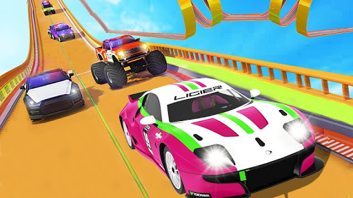 Monster Truck Racing New Game 2020 Racing Car Game android2mod screenshots 1
