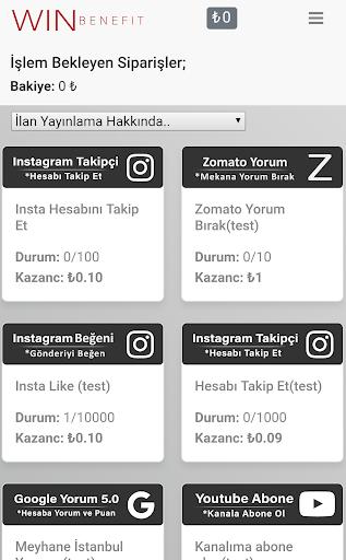 Win Benefit - Para Kazan 1.0 Screenshots 3