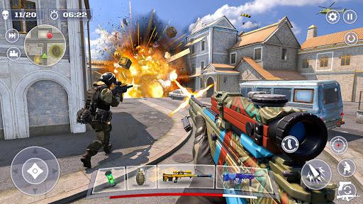 Anti Terrorist Shooting Squad-Combat Mission Games apktram screenshots 4