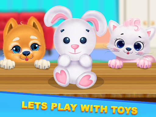Kitty & Puppy Best Friends Pet Vet Care  screenshots 12