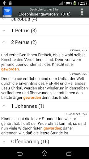 Deutsch Luther Bibel android2mod screenshots 2