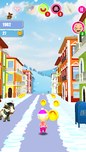Baby Snow Run – Running Game Game Hack Android and iOS 1