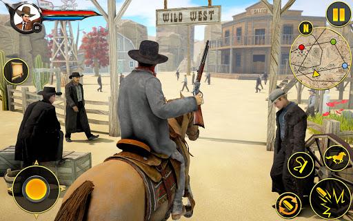 Cowboy Horse Riding Simulation : Gun of wild west 4.2 screenshots 7