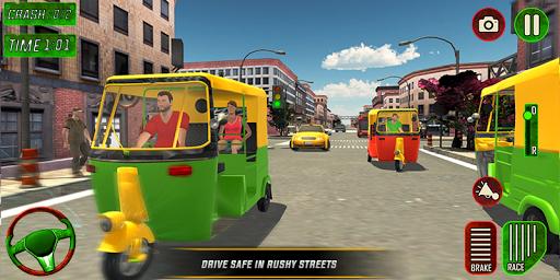 Tuk Tuk Auto Rickshaw Driver 2019:City Parking 1.5 screenshots 4
