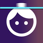 Time warp scan - Blue line filter,Warp time effect