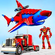 Real Shark Robot Car Game