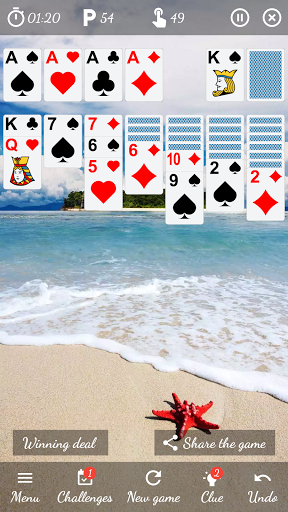Solitaire Free Game 5.9 Screenshots 1