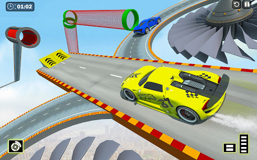 Crazy Ramp Car Stunts :Mega Ramp Stunt Games apkmr screenshots 14