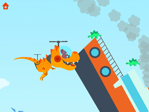 Dinosaur Helicopter - Games for kids  screenshots 15