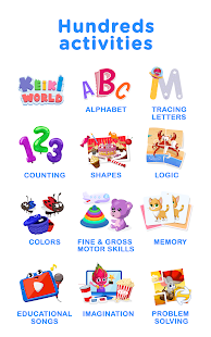 Keiki Educational ABC Puzzle Games for Kids & Baby