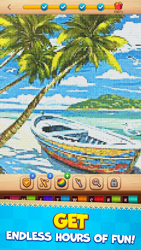 CROSS-STITCH: COLORING BOOK modavailable screenshots 2