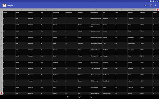 CSV Editor  Screenshots 10