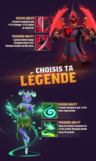 Code Triche Mythic Legends APK MOD (Astuce) screenshots 2