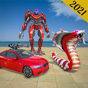 Mega Anaconda Robot Car Transform Game