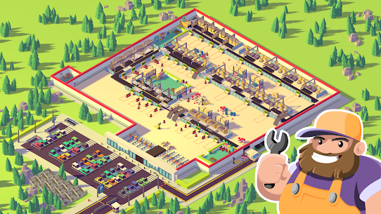 Car Industry Tycoon – Idle Car Factory Simulator Apk Download NEW 2021 4