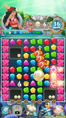 Jewel Aloha- Ocean Match 3 Puzzleのおすすめ画像4