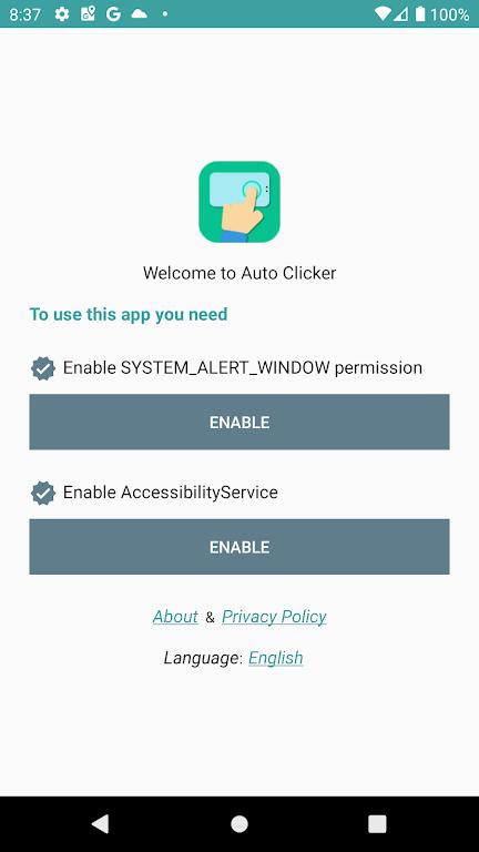Auto Clicker  poster 2