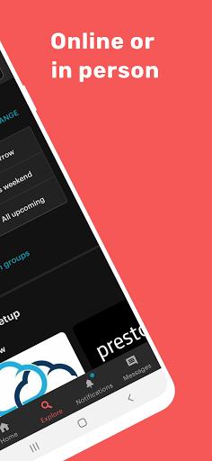 Meetup: Find events near you screenshots 2