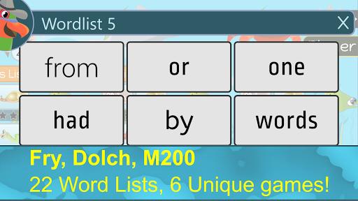 ParrotFish - Sight Words Reading Games painmod.com screenshots 1