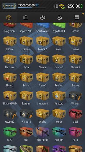 Case Simulator Ultimate - CS go skins box crate 2 apktram screenshots 19